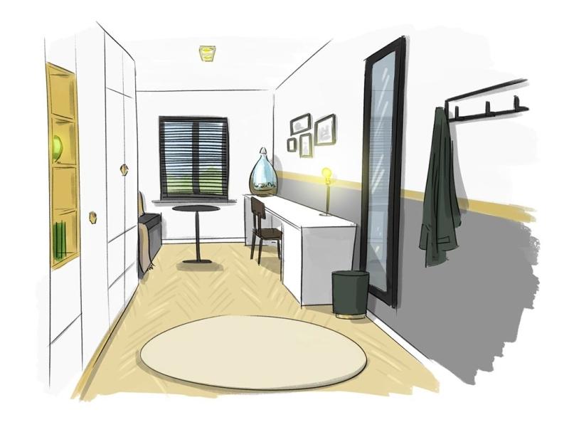 illustraties voor eigen huis en tuin door Roy Korpel
