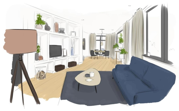 illustraties voor eigen huis en tuin