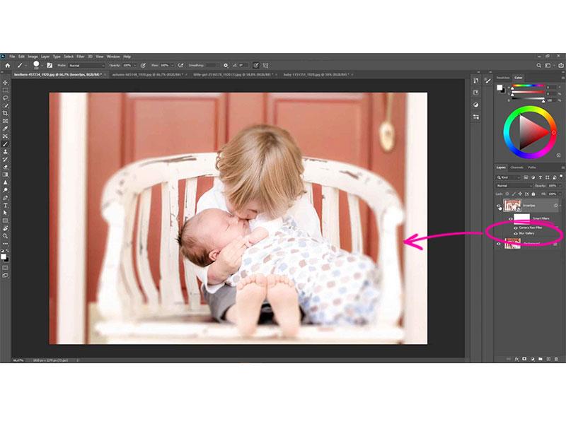 In deze Photoshop cursus leer hoe je toffe effecten toepast via filters