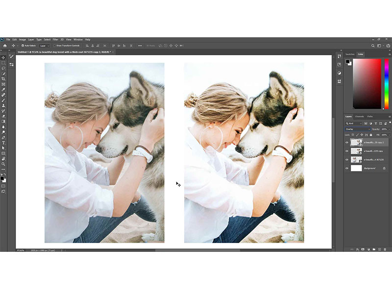 Ontdek hoe fotografen hun foto's van het scherm laten knallen met blendingmodi's