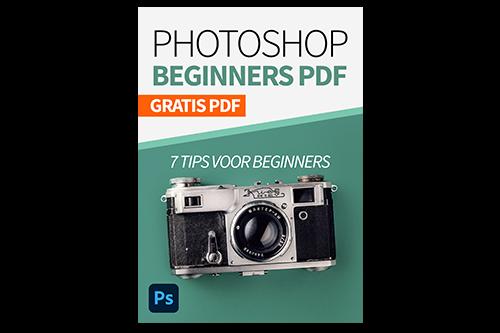 Photoshop voor beginners tips