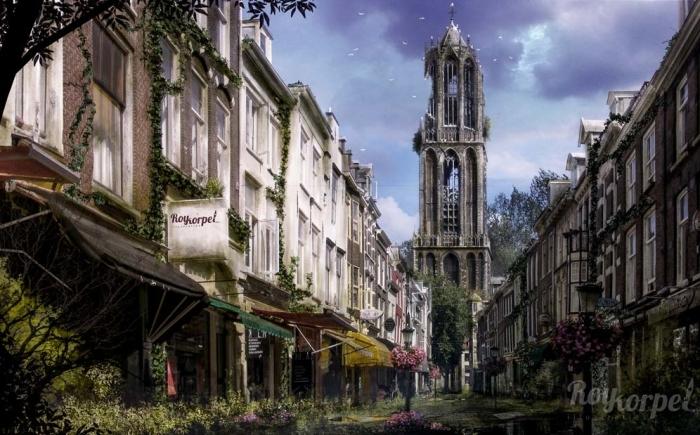 100 jaar verlaten Nederland