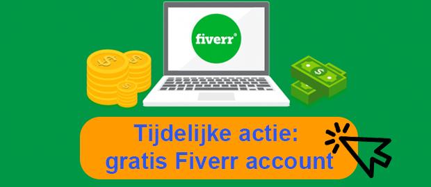 Fiverr gratis account