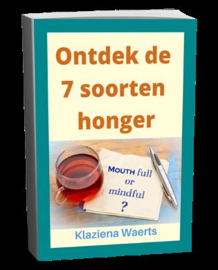 e-book ontdek de 7 soorten honger