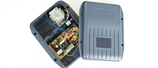 Controlbox met printplaat standaard