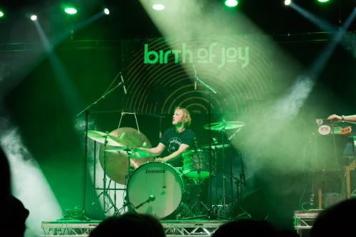Bob Hogenelst.- drumdocent Novae Popschool