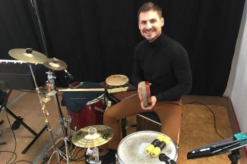 Christian Palmieri - Drumdocent Novae Popschool