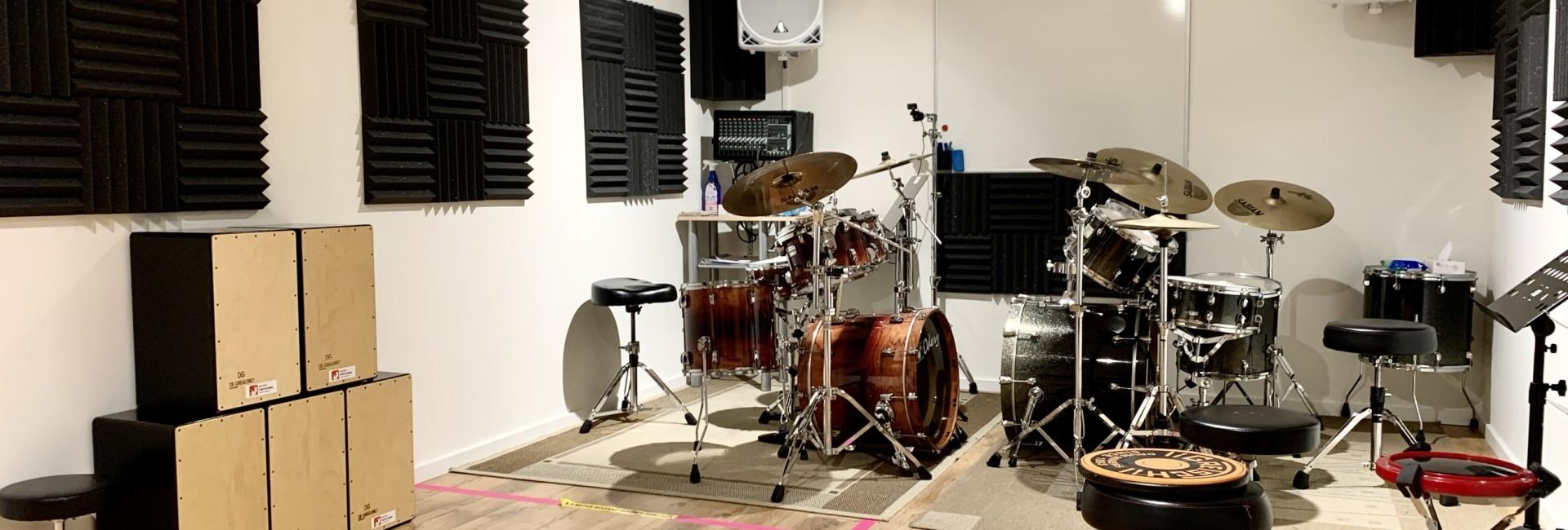 Drumles bij Novae Popschool