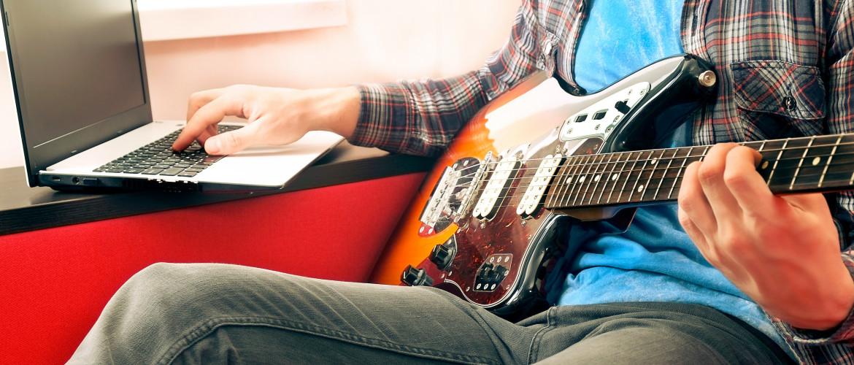 Hoe werken de online lessen bij Novae Popschool?
