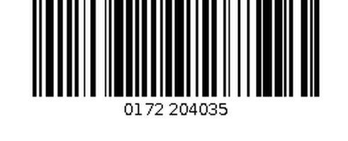 1D barcode verschil 2D barcode