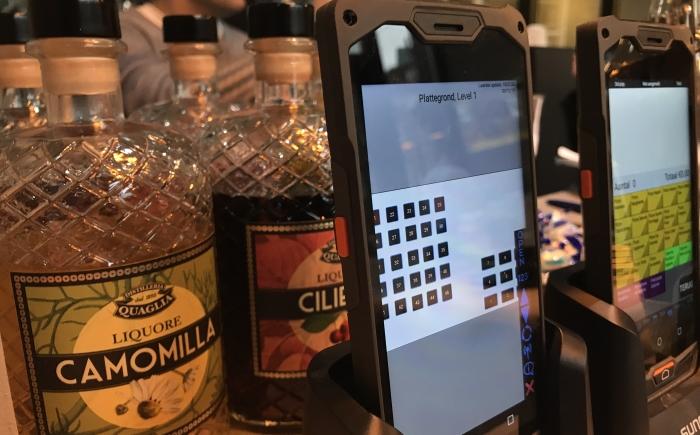 handheld mobiele kassa horeca