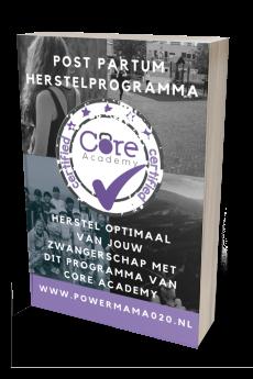 PowerMama 020 Post Partum herstelprogramma Core Academy