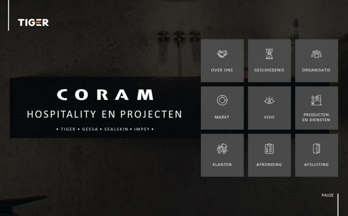 Coram - Bedrijfspresentatie laten maken