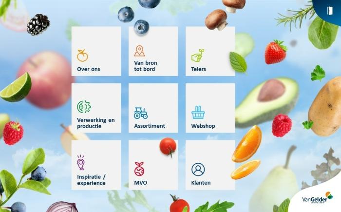 Van Gelder groente en fruit - Powerpoint laten maken