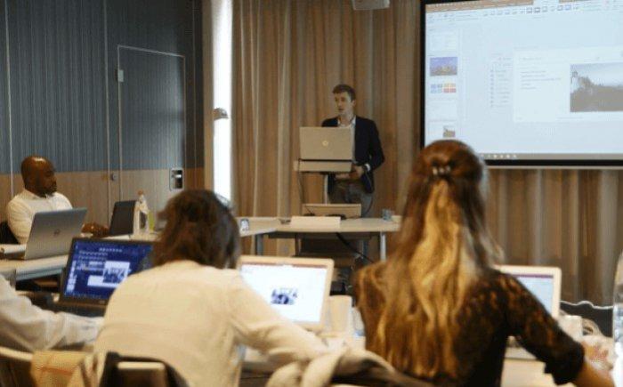 Trainingsruimte - PowerPoint training