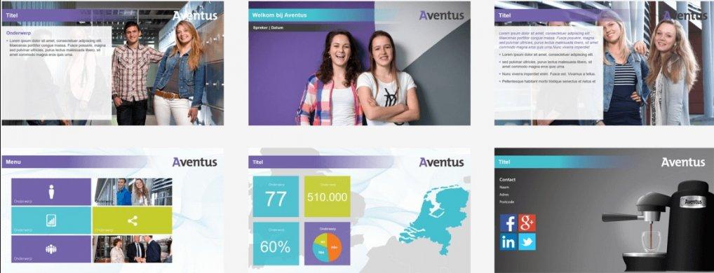 Dynamische presentatie ROC Aventus - PPT Solutions