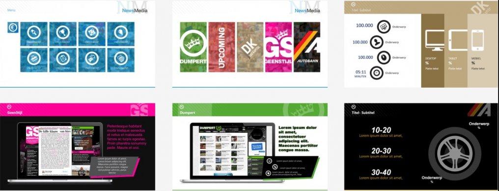 Bedrijfspresentatie NewsMedia- PPT Solutions