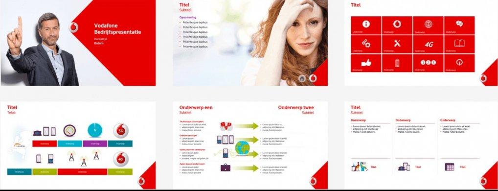 Sales presentatie Vodafone - PPT Solutions