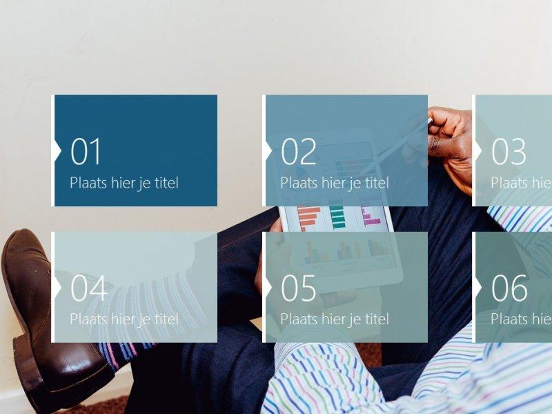 Agendaslide - PowerPoint slide-bibliotheek
