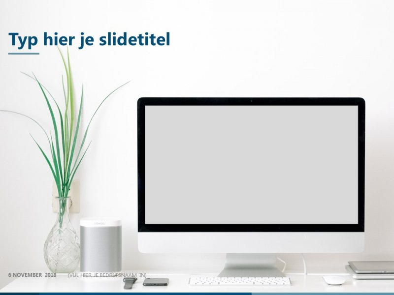 Mockup - PowerPoint slide-bibliotheek