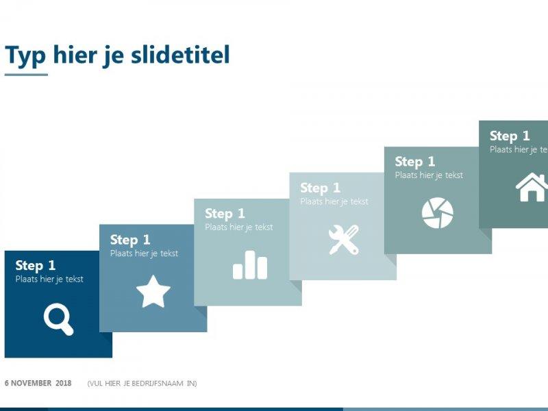 Stappenplan - PowerPoint slidebibliotheek