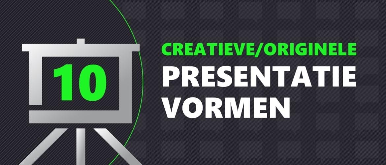 10 creatieve en originele presentatievormen om te overtuigen