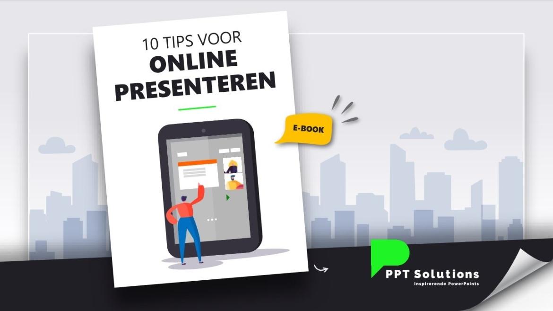 10 tips voor online presenteren e-book