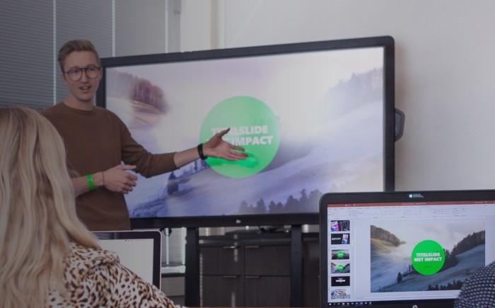 Werken met grafieken - PowerPoint training