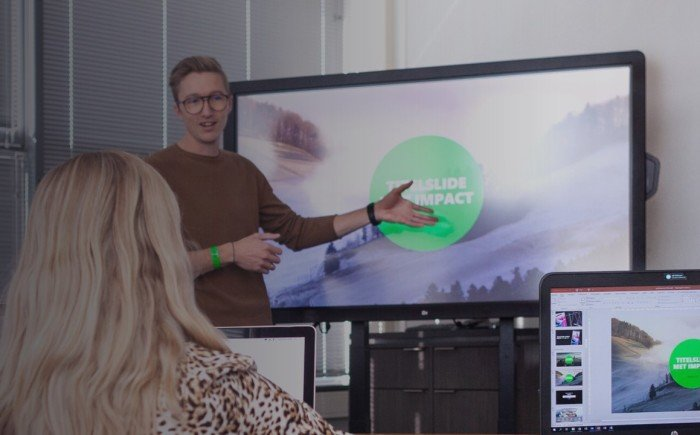 Werken met iconen - PowerPoint training