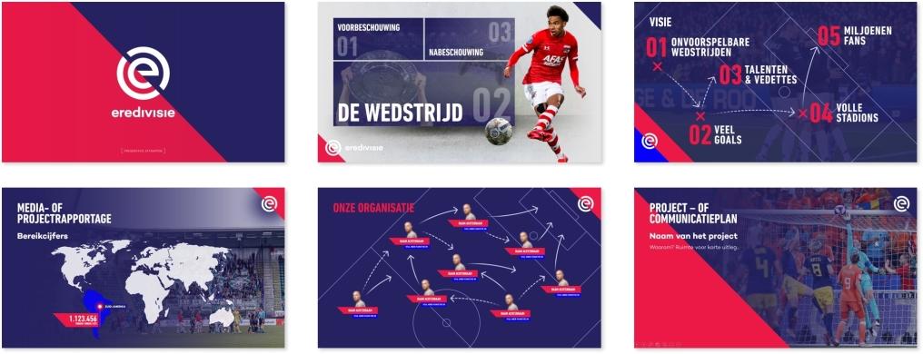 PowerPoint presentatie Eredivisie