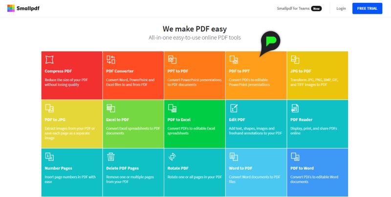 Stap 1: PDF converteren naar PowerPoint