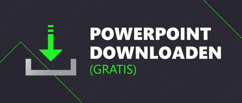 Microsoft PowerPoint downloaden (gratis)