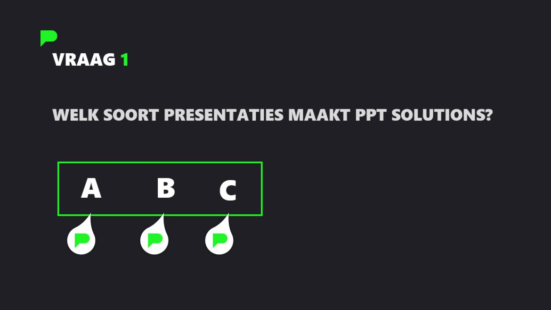 PowerPoint Quiz - Stap 3
