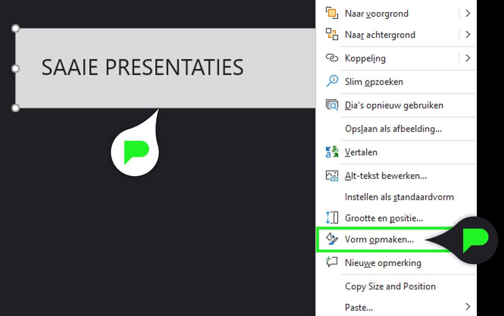 PowerPoint Quiz - Stap 7.1