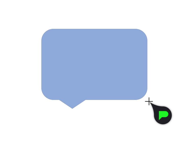 Stap 4: Tekstballon slepen
