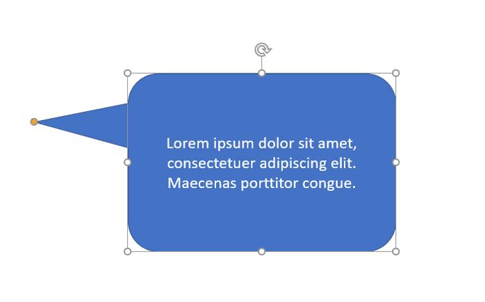 Stap 7: tekst in tekstballon