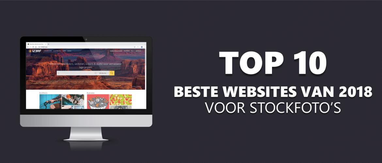 De 10 Beste Websites Van 2018 Voor Perfecte Stockfoto's!