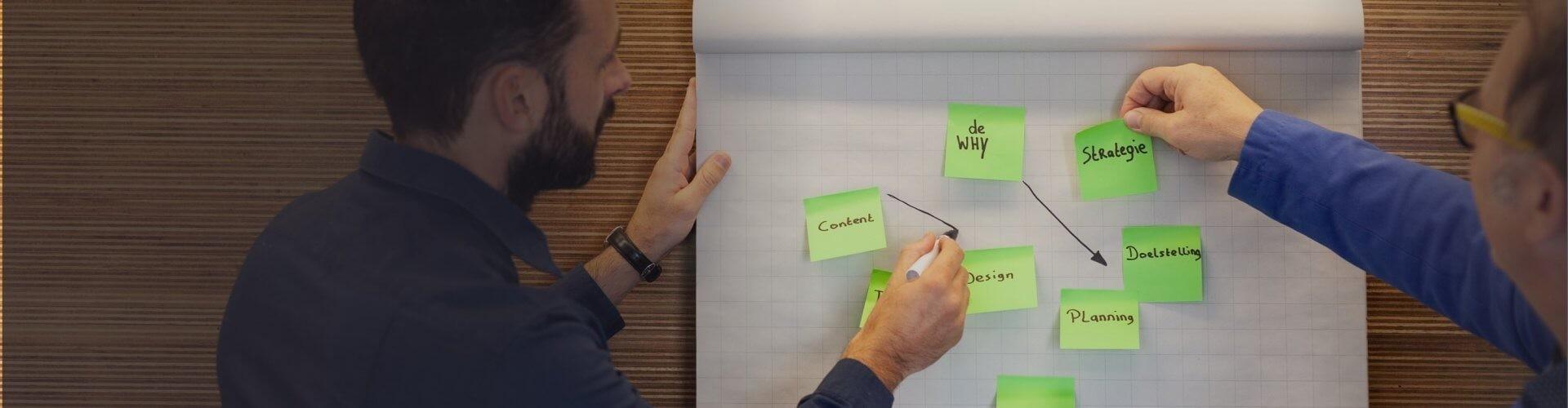 Structuur in je presentatie - Verhaallijn schrijven