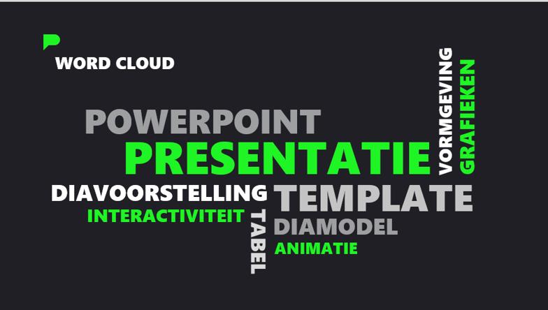 Word Cloud in PowerPoint