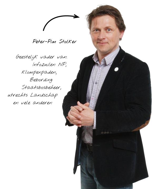 schrijver van informatieborden & infoborden e-book Peter-Pim Stolker