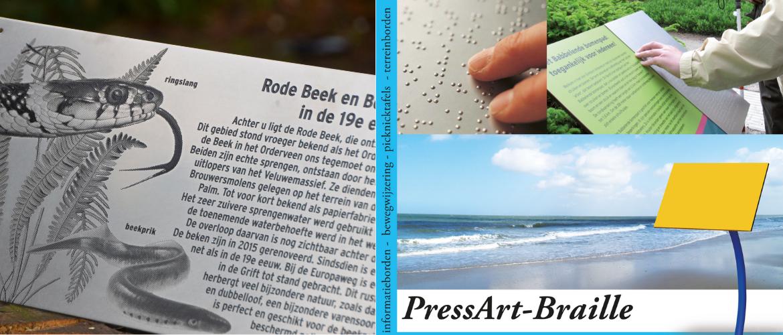 Braille Informatiepanelen