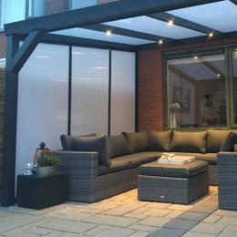 Lichtdoorlatende zijwand polycarbonaat plaatsen download de checklist van Prima Veranda