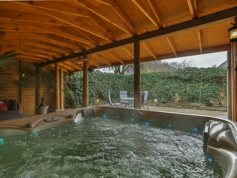 Prive sauna boerderij de Westerlinden