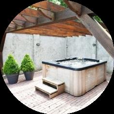 Privé sauna de Meerkes
