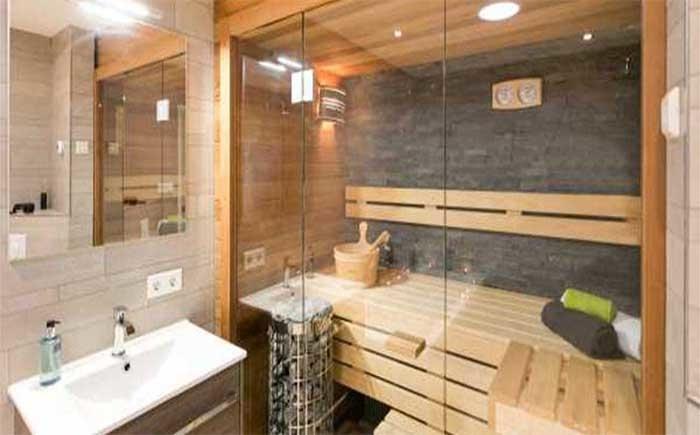 Prive sauna Zo heerlijk rustig