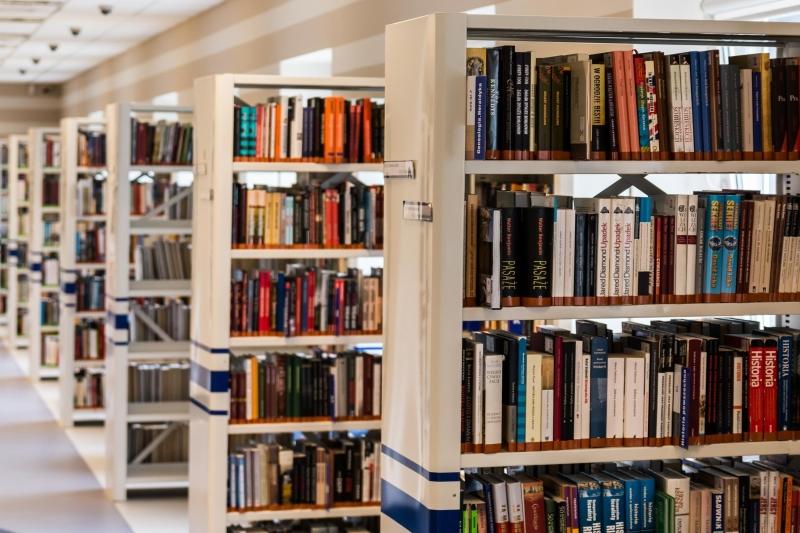 bibliotheek, boeken, kasten