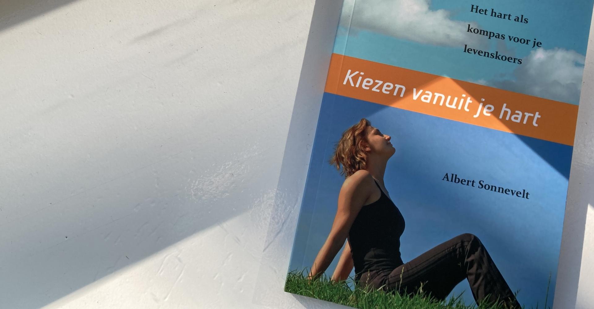 Kiezen vanuit je hart, cover, boek, Albert Sonnevelt