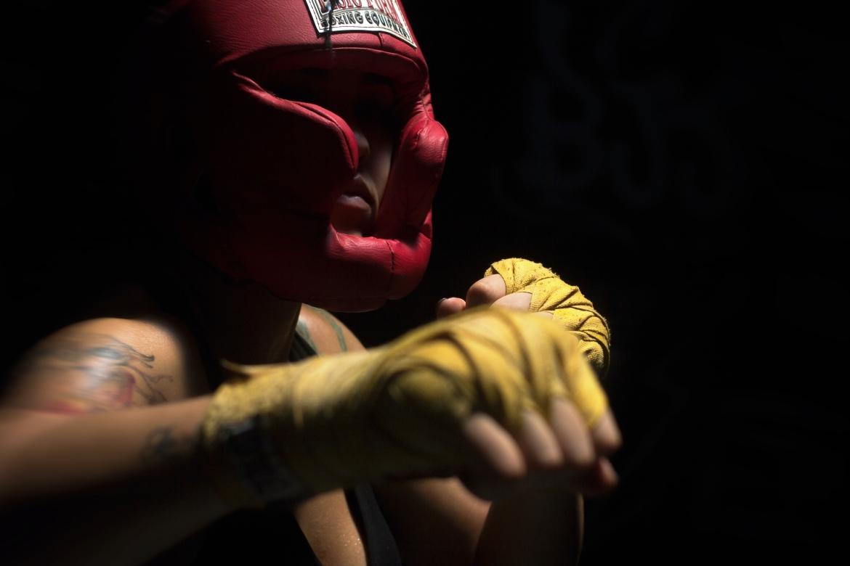 boksen, sporten, vechtsport, uitlaatklep, frustratie