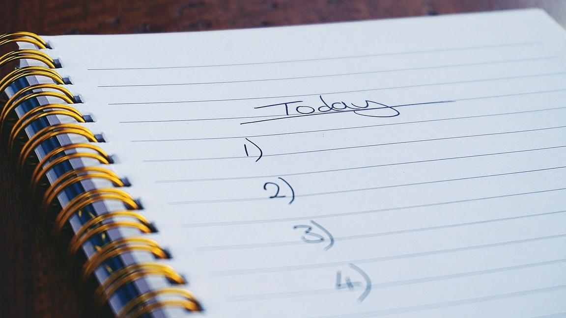 to do lijst, lijst, doen, activiteiten, dagindeling