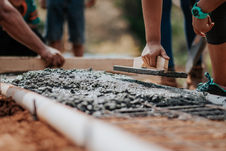 fundament, bouw, bouwen, metselen
